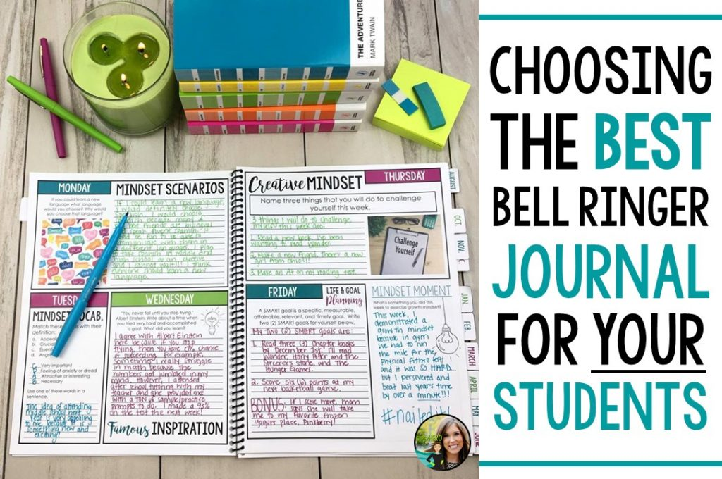Choosing The Best Bell Ringer Journal For Your Students